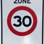 Hoofdweg Eelde 30 kilometerweg